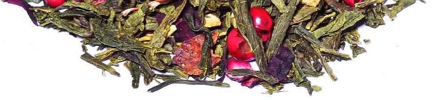 Grüner Tee aromatisiert