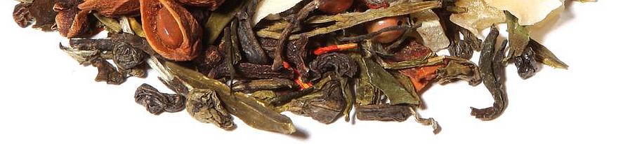 Weißer Tee aromatisiert