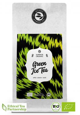 Grüner Eis Tee BIO, Grüner Tee in der 100g Tüte von alveus® bei tee-design.eu im Online-Shop kaufen.
