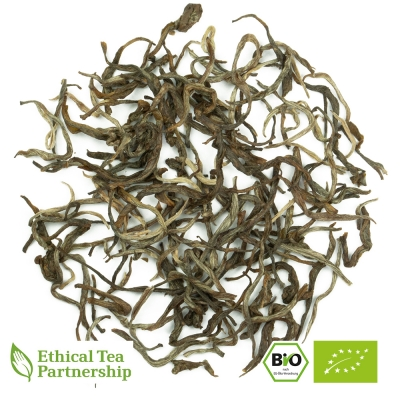 Grüner Tee CHINA GREEN JADE SILK 1ST GRADE ORGANIC BIO von alveus® Rarities bei tee-design.eu im Online-Shop kaufen.