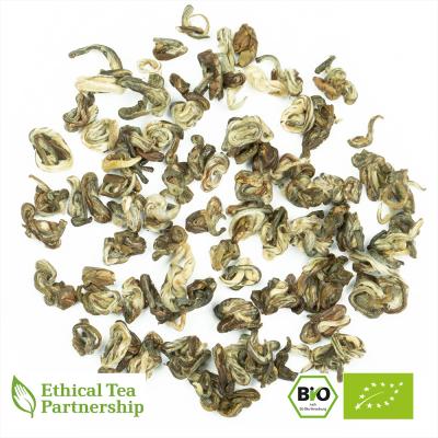 Grüner Tee CHINA GREEN JADE SILVER SNAIL (HUA WO) 1ST GRADE ORGANIC BIO von alveus® Rarities bei tee-design.eu im Online-Shop kaufen.