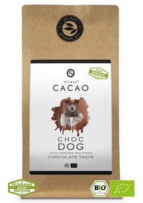 Kakao Getränk Cacao Choc Dog BIO in der 125g Tüte von alveus® bei tee-design.eu im Online-Shop kaufen.