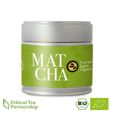 Matcha Tee in der 30g Dose, JAPAN CEREMONIAL MATCHA BIO von alveus® Rarities