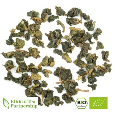 Oolong Tee FORMOSA NANTOU GREEN JIN XUAN ORGANIC BIO von alveus® Rarities bei tee-design.eu im Online-Shop kaufen.