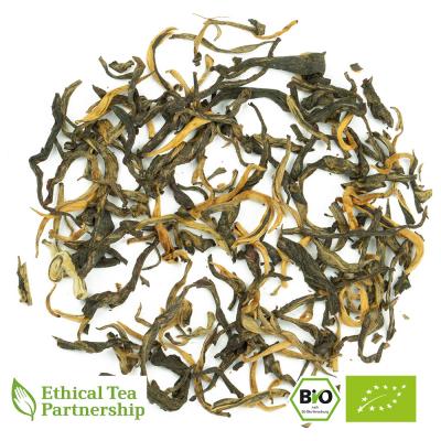 Schwarzer Tee CHINA YUNNAN IMPERIAL GOLDEN BUD ORGANIC BIO von alveus® Rarities bei tee-design.eu im Online-Shop kaufen.