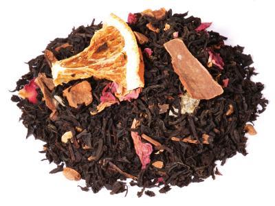 Schwarzer Tee Orange-Zimt aus kontrolliert biologischem Anbau von alveus® bei tee-design.eu.