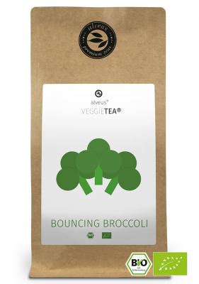 VeggieTea Bouncing Broccoli BIO Gemüse Tee in der 100g Tüte von alveus® bei tee-design.eu im Online-Shop kaufen.