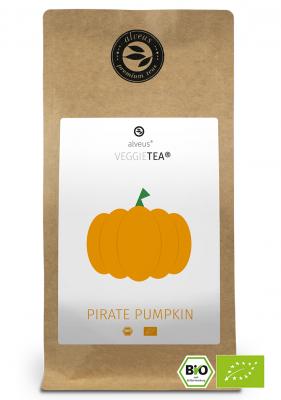 VeggieTea Pirate Pumpkin BIO Gemüse Tee in der 100g Tüte von alveus® bei tee-design.eu im Online-Shop kaufen.
