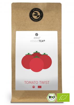 VeggieTea Tomato Twist BIO Gemüse Tee in der 100g Tüte von alveus® bei tee-design.eu im Online-Shop kaufen.